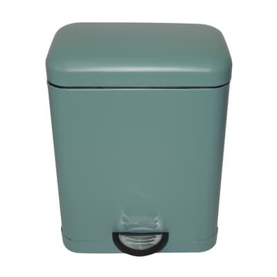 Pattumiera da bagno a pedale Smart verde 5 L