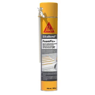Schiuma poliuretanica SIKA Bond FoamFix+ giallo 300 ml