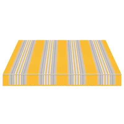 Tenda da sole a bracci estensibili TEMPOTEST PARA' L 3 x H 2 m Cod. 636/12 avorio, azzurro, giallo