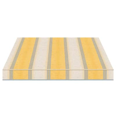 Tenda da sole a bracci estensibili TEMPOTEST PARA' L 3.5 x H 2 m Cod. 5071/82 avorio e giallo