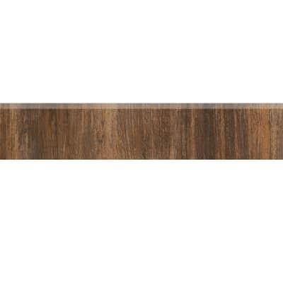 Battiscopa Eco Tiles H 7 x L 30 cm marrone