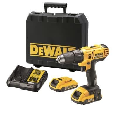 Trapano avvitatore a batteria DEWALT DCD776D2-QW 18 V, 2 Ah, 2 batterie