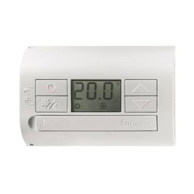 Termostato finder 1t3190030000mmm bianco prezzi e offerte for Termostato gsm leroy merlin
