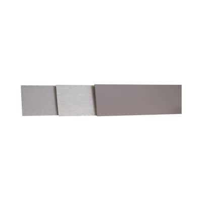 Alzatina laminato bianco lucido L 100 x Sp 10 cm