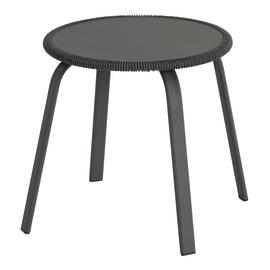 Tavolino Veracruz, Ø 40 cm grigio chiaro