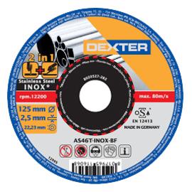 Disco abrasivo as46tinox Ø 125 mm