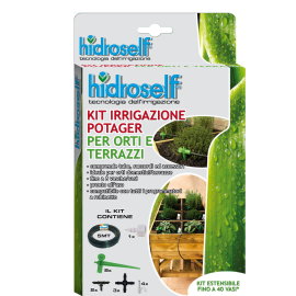 Kit microirrigazione 8 vasi