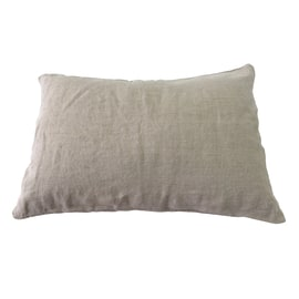 Cuscino 100% lino naturale 40 x 60 cm