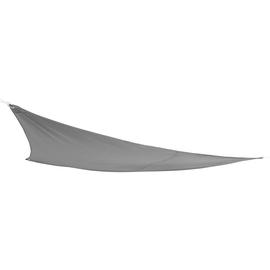 Vela ombreggiante triangolare grigia