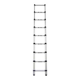 Scala telescopica alluminio Gierre 9 gradini, per lavori fino a 3,5 m