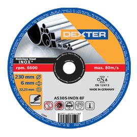 Disco abrasivo as30sinox Ø 230 mm