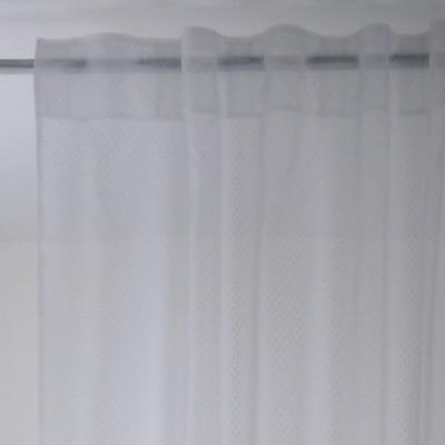 Tenda Plumetis bianco 150 x 300 cm