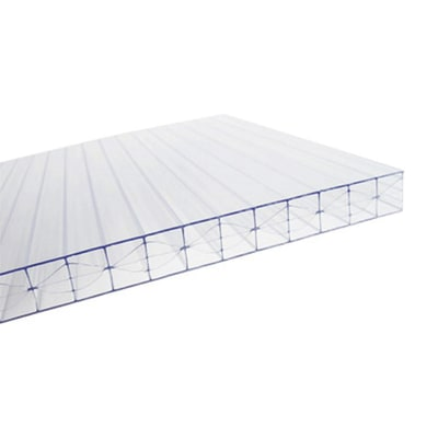 Lastra alveolare in policarbonato 300 x 98  cm, spessore 16 mm