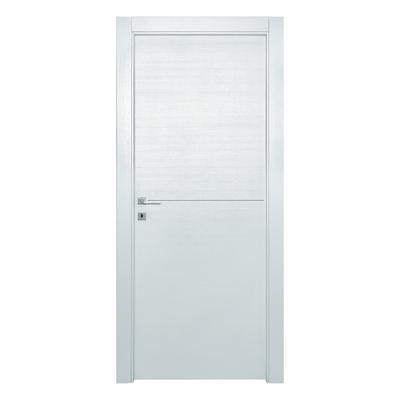 Porta da interno battente Hollow bianco matrix 80 x H 210 cm dx