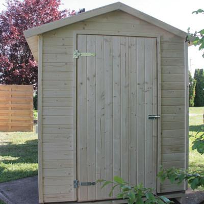 chiosco in legno grezzo Mojito 2,92 m², 3 ribalte