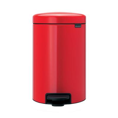 Pattumiera Pedal Bin New Icon 12 L rosso