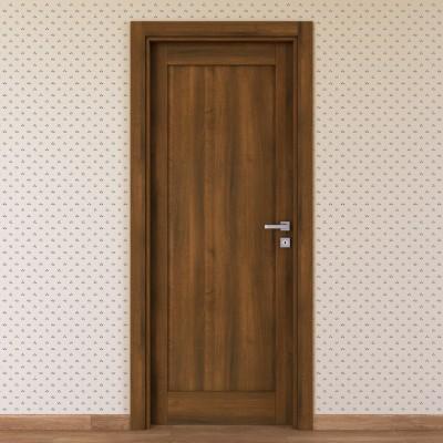 Porta da interno battente Sargas noce 70 x H 210 cm sx