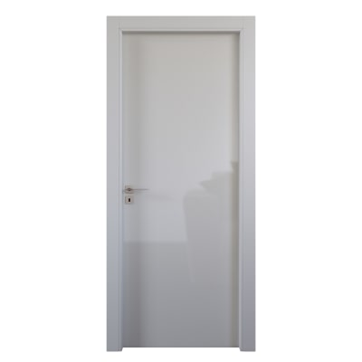 Porta da interno battente Massaua white bianco 60 x H 210 cm dx