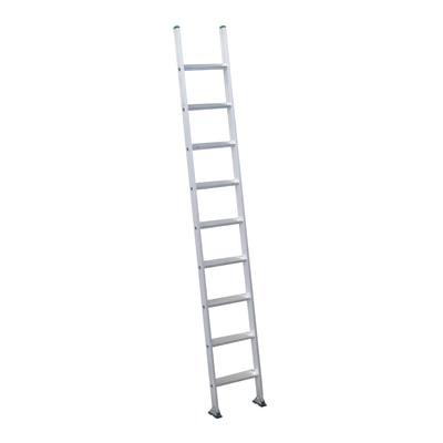 Scala ad appoggio alluminio Facal 9 gradini, per lavori fino a 3,8 m