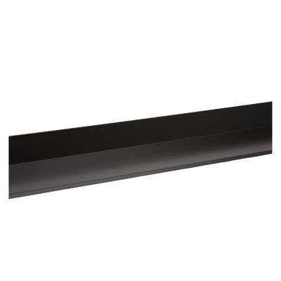 Bordura in acciaio color testa di moro 15 x 15 cm, L 200 cm