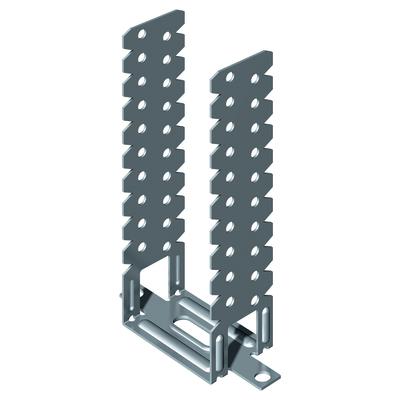 Staffa regolabile da 3 cm a 12 cm