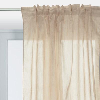 Tenda Chevron ecru 140 x 290 cm