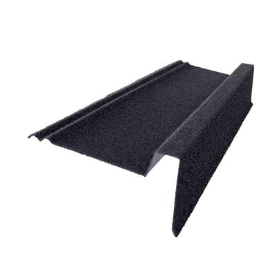 Bordura per lastra Easy Tuile color antracite, L 90 cm