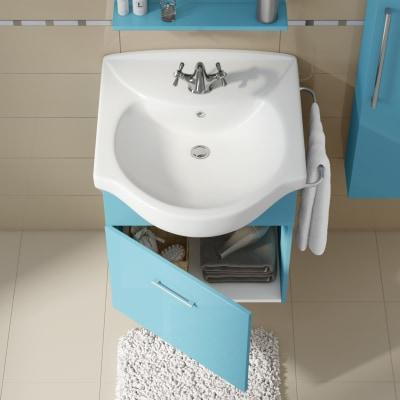 Mobile bagno Ginevra bermuda L 58 cm