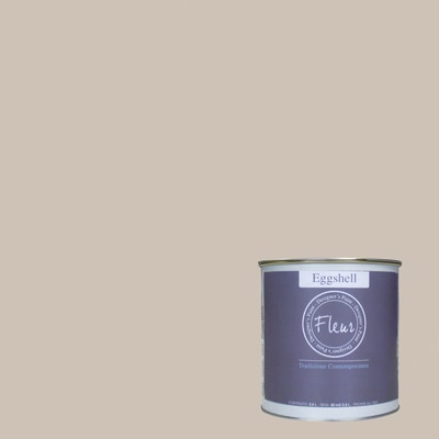Smalto manounica Fleur Eggshell all'acqua taupe sophistication satinato 0.75 L