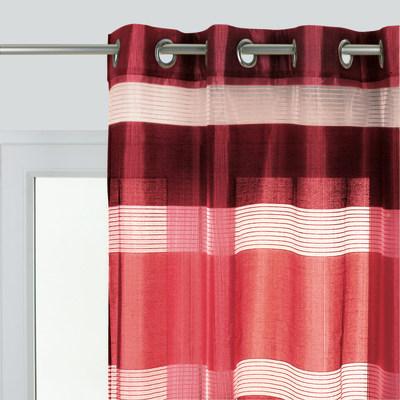 Tenda Stripe rosso 140 x 280 cm