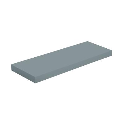 Mensola Spaceo grigio L 60 x P 23, sp 3,8 cm