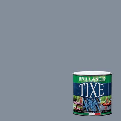 Smalto per ferro antiruggine Tixe Brillantix grigio brillante 0,5 L