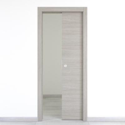 Porta da interno scorrevole Cambridge 80 x H 210 cm reversibile