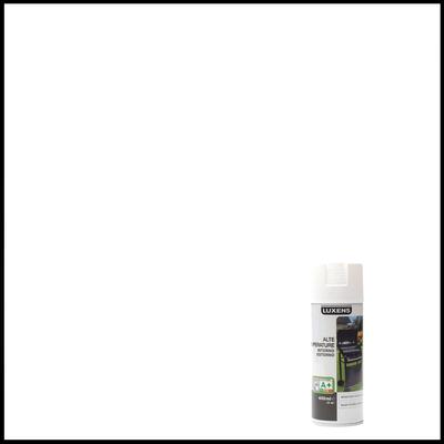 Smalto spray Luxens alte temperature bianco opaco 400 ml