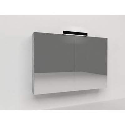 Specchio contenitore Key L 90 x H 62 x P  15 cm larice