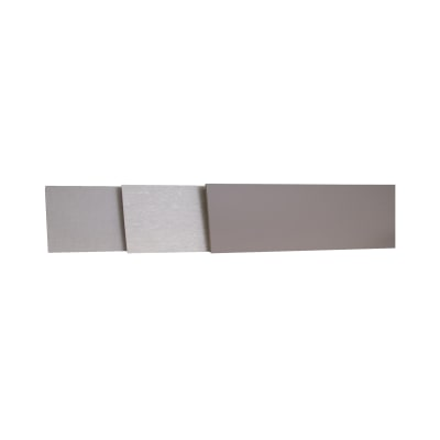 Alzatina su misura Sabbia Vintage laminato grigio H 10 cm