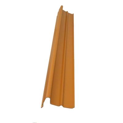 Frontalino polivalente terracotta in polimglass 24 x 13,5  cm, spessore 3 mm