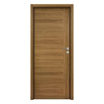 Porta da interno battente Petra Teak 80 x H 210 cm reversibile