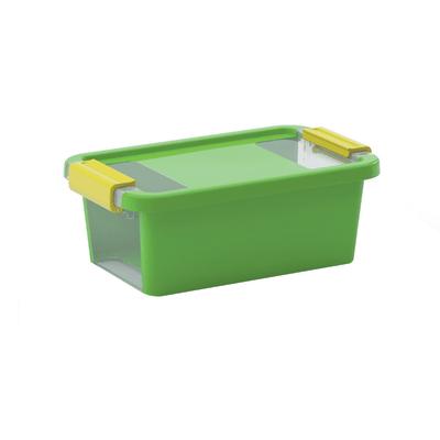 Scatola Bi Box XS L 16 x P 26,5 x H 10 cm verde