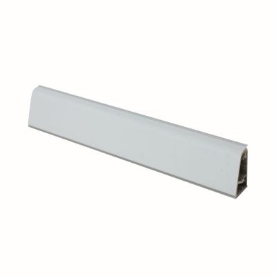 Alzatina su misura alluminio marmo nero H 3 cm