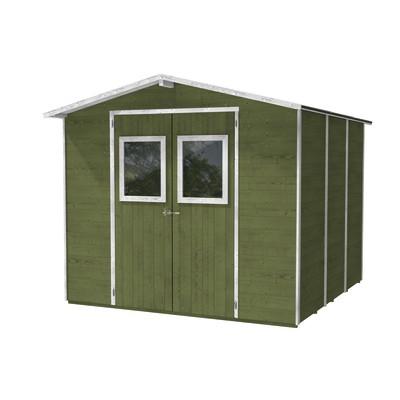 casetta in legno Vaniglia 4,73 m², spessore 19 mm