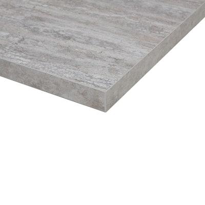 Piano cucina su misura laminato Calais grigio 2 cm
