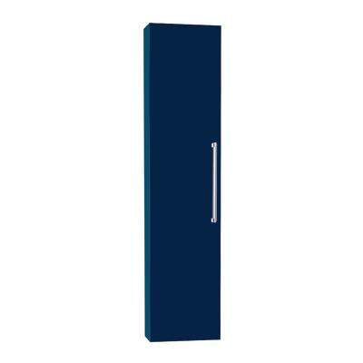 Colonna Ginevra DX blu scuro 1 anta L 32 x H 140 x P 16 cm
