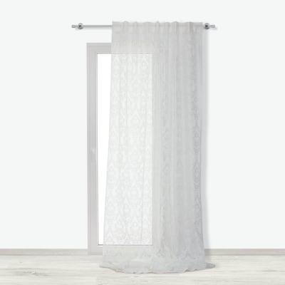 Tenda Raschel bianco 140 x 290 cm