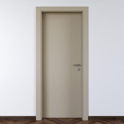 Porta da interno battente Cinder grigio 60 x H 210 cm sx
