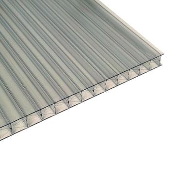 Lastra alveolare Onduline Onduclair PCMW in policarbonato 98 x 300  cm, spessore 16 mm