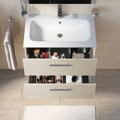 Mobile bagno Key bianco vintage L 90 cm