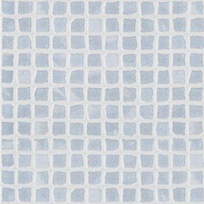 Piastrella Opus 25 x 33,3 cm azzurro