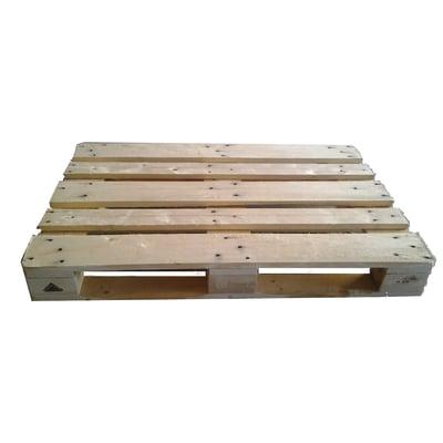 Pallet singolo legno l 120 x p 80 x h 14 5 cm grezzo for Sfere legno leroy merlin