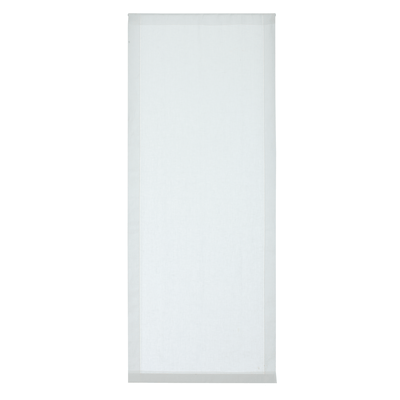 Tendina a vetro per finestra Vittoria bianco 60 x 150 cm